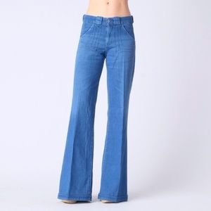 NWT AG 'the carly' Wide leg jeans